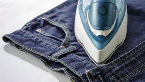 Hvordan stryges jeans?