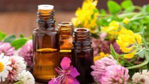 Typen en methoden voor het gebruik van etherische oliën