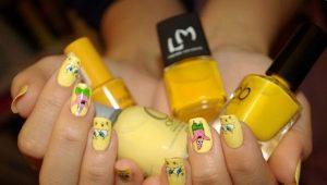 Grappige manicure