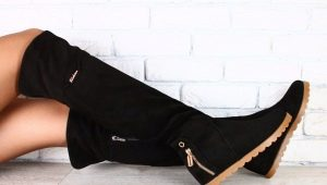 Botas de camurça sem salto: como escolher e o que vestir?