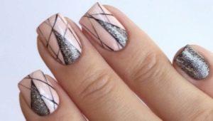 Идеи за маникюр на къси квадратни нокти