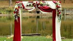 How to make a wedding arch with your own hands?