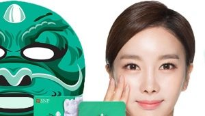 Gezichtsmaskers voor Koreaanse stoffen: een overzicht van de beste, tips voor kiezen en gebruiken