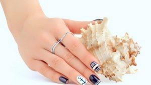 Holiday manicure: original ideas