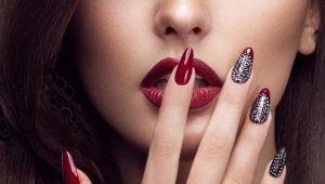 Opções de manicure para unhas afiadas curtas