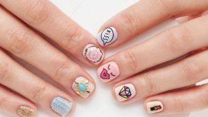 Manicure-opties voor zeer korte nagels