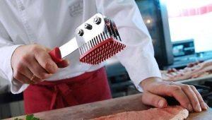 Beschrijving en selectie van hamers voor het verslaan van vlees