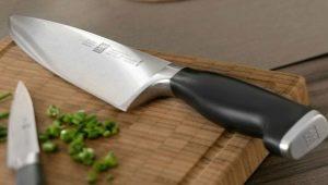 Functies, types en regels voor de selectie van koksmessen