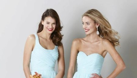 Blauwe jurk - maak een spectaculaire heldere of zachte afbeelding