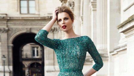 Sea-green dress