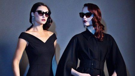 O que vestir com um vestido preto e que acessórios escolher?