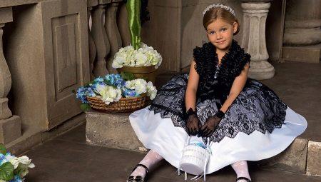 Vestidos elegantes para meninas