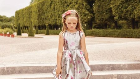 Vestidos para meninas de 5 anos - belas imagens para uma idade encantadora