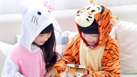 Lasten frotee pyjamat