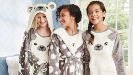 Lasten fleece-pyjamat