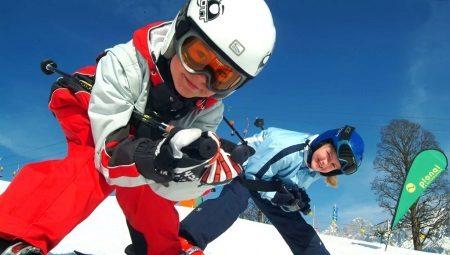 Ternos de esqui para crianças