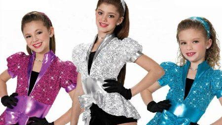 Trajes infantis para dançar