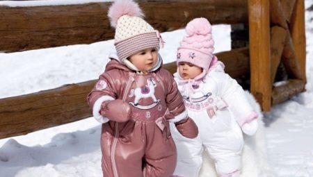 Macacões de inverno para crianças