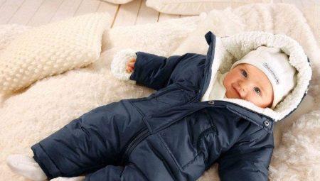 Macacões de inverno para recém-nascidos