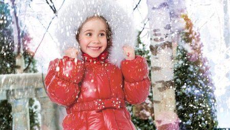 Terno de inverno para meninas