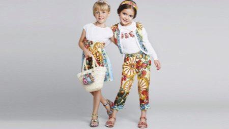 Sandálias de marca para meninas