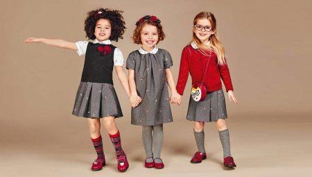 Sapatos de salto alto para meninas