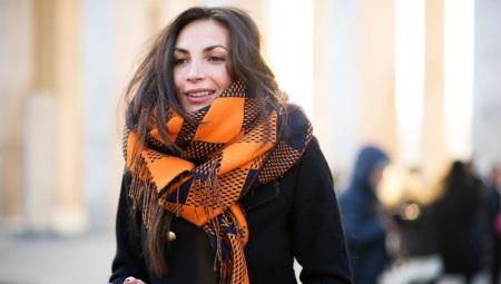 Como amarrar um lenço de inverno?