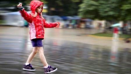 Sapatilhas sobre rodas para meninas