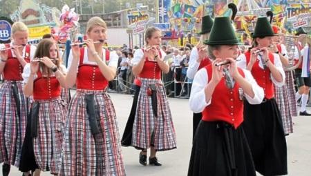 Traje nacional da Baviera