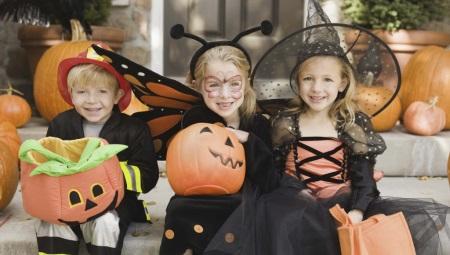 Traje de Halloween para crianças