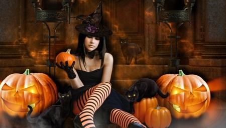 Traje de Halloween para meninas