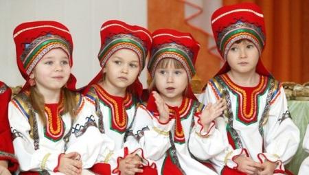 Mordovian national costume