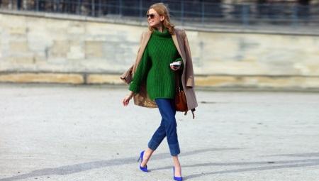 Sapatos de camurça azul