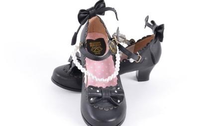 Sapatos de meninas para escola