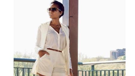 O que vestir com calções brancos