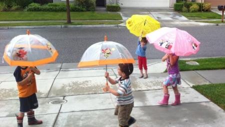 Guarda-chuvas infantis
