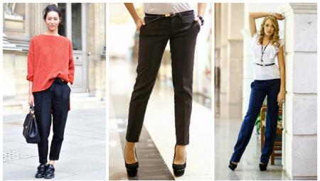 Miten tehdä nuolia housuihin?