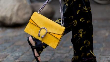 O que vestir com uma bolsa amarela?