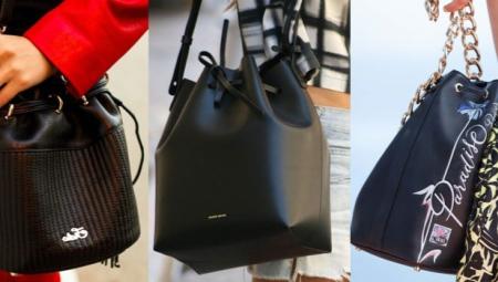 Saco de bolsas com suas próprias mãos: padrão e alfaiataria