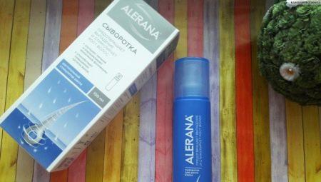Kenmerken van de toepassing van serum Alerana voor de haargroei