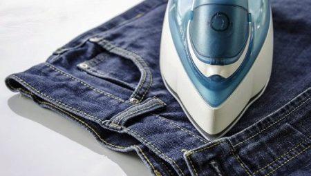 Como passar jeans?