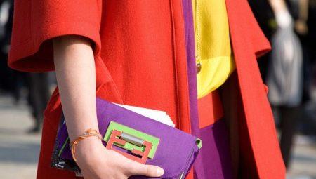 Kleurblokkenstijl in kleding
