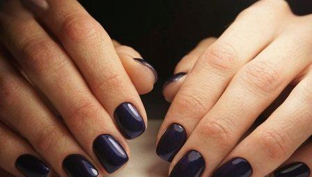 Simpele manicure voor korte nagels