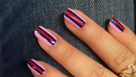Hoe de nagels visueel te verlengen?