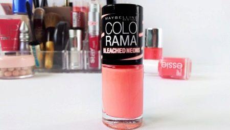 Functies en kleurenpallet van Colorama nagellakken