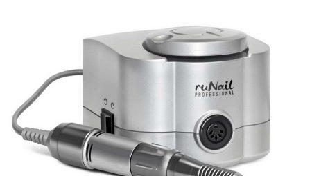 Kenmerken van de keuze en het gebruik van het apparaat voor manicure Runail