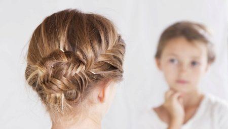 Pletenice Za Djevojčice S Dugom Kosom 71 Fotografija