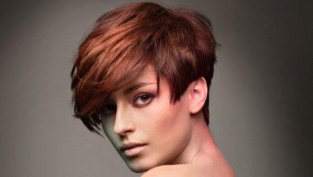 757b3df61c3 Potongan rambut tak simetris untuk rambut pendek (63 gambar): gaya ...