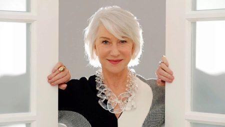 Talls de moda de moda per a dones de 60 anys
