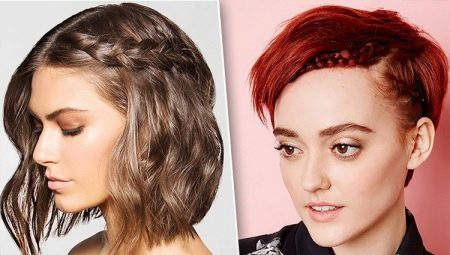 044784f5f8d Gaya rambut untuk rambut pendek (69 gambar): styling wanita cantik ...